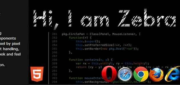 Zebra HTML5 Framework