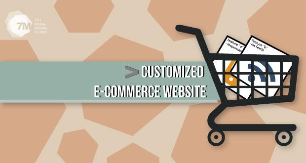 Customize Ecommerce Website Design