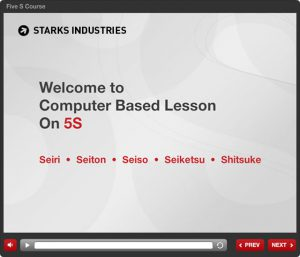 5S Computer Based Lesson   eLearning Company